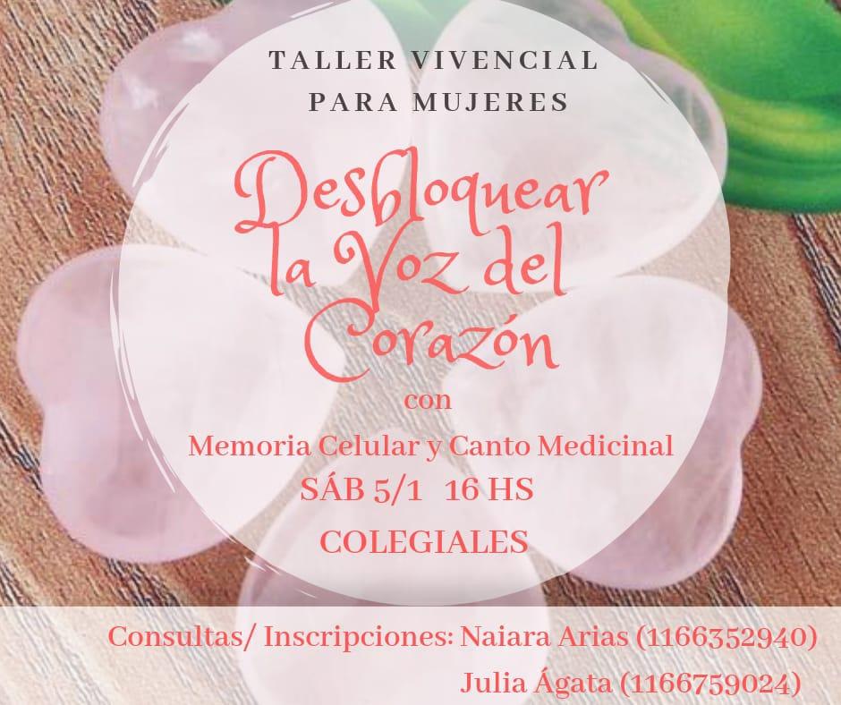 Taller Vivencial para Mujeres
