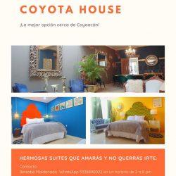 Orange Photo Collage Modern Open House Flyer