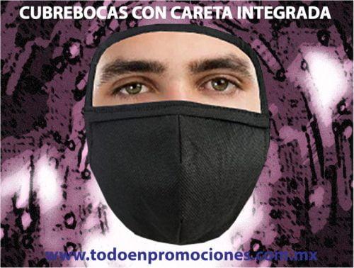 CUBREBOCAS CON CARETA INTEGRADA 2